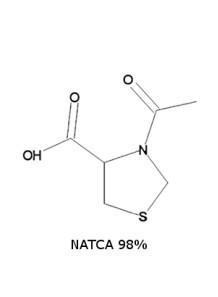 NATCA (N-acetyl thiozolidine-4-carboxylie acid) 98%
